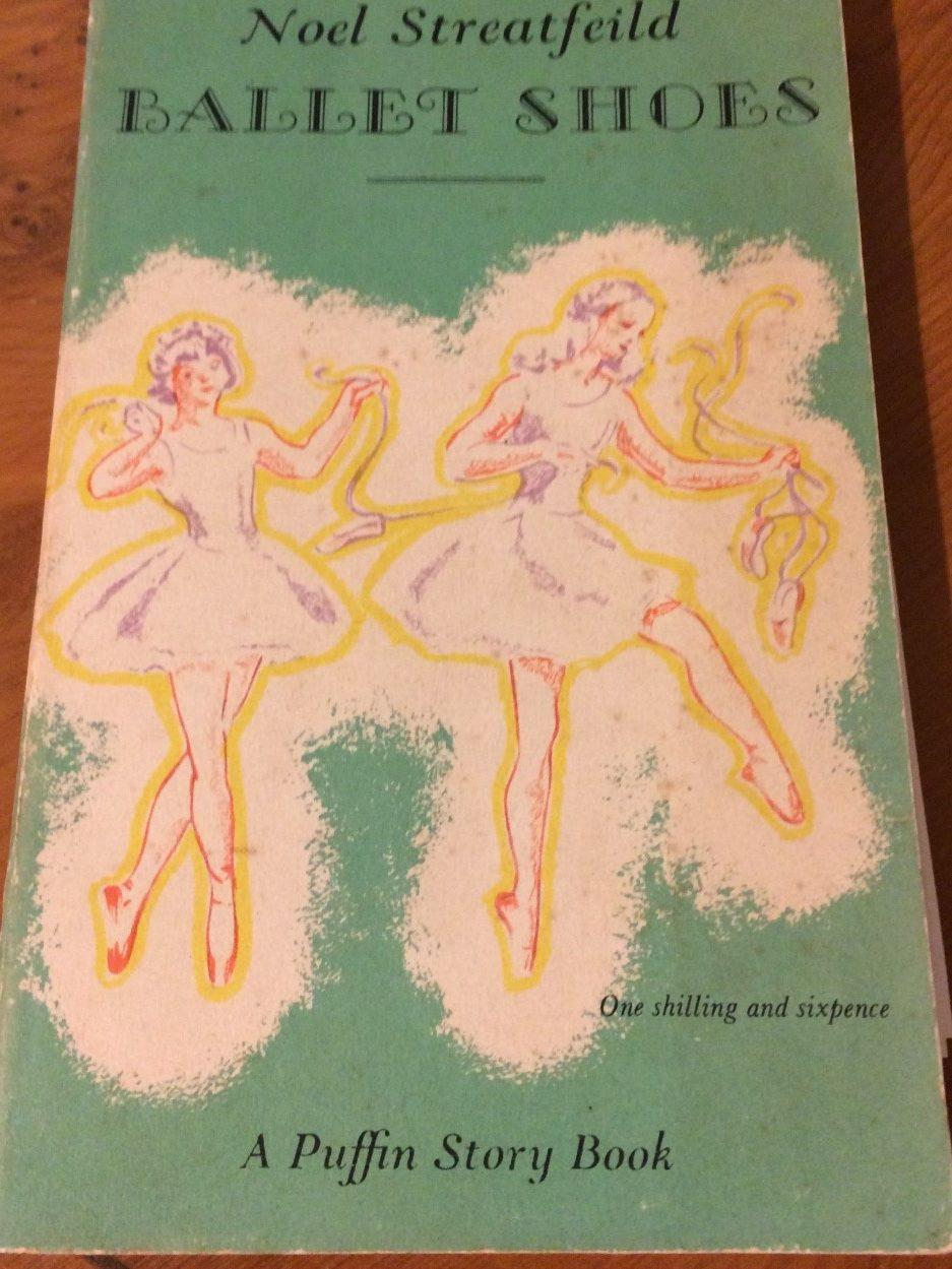 Cover illustration of Ballet Shoes by Noel Streatfeild