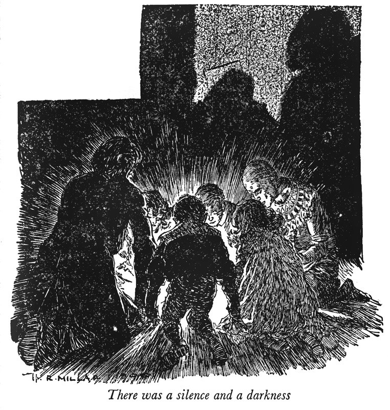 Illustration from The Enchanted Castle