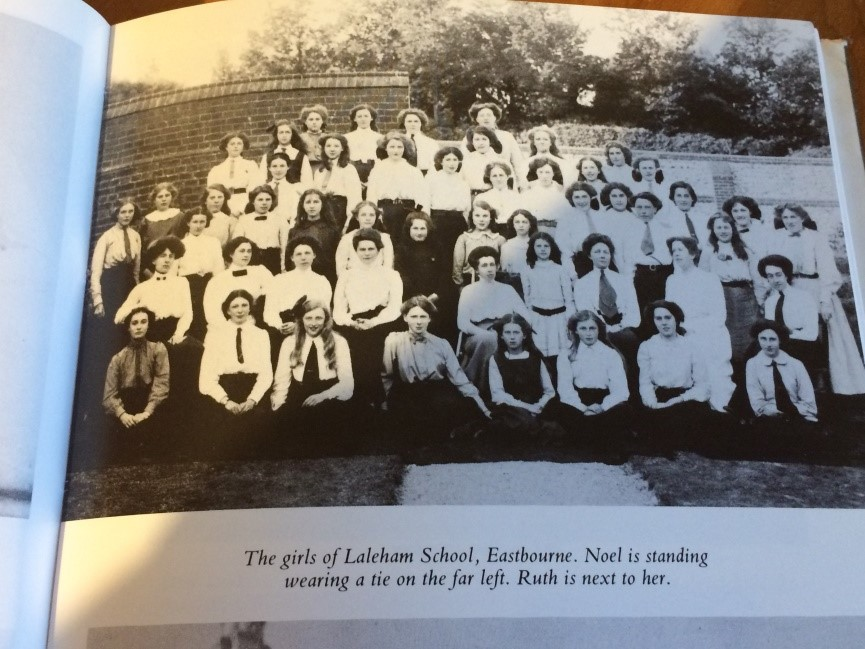 Noel Streatfeild school photograph