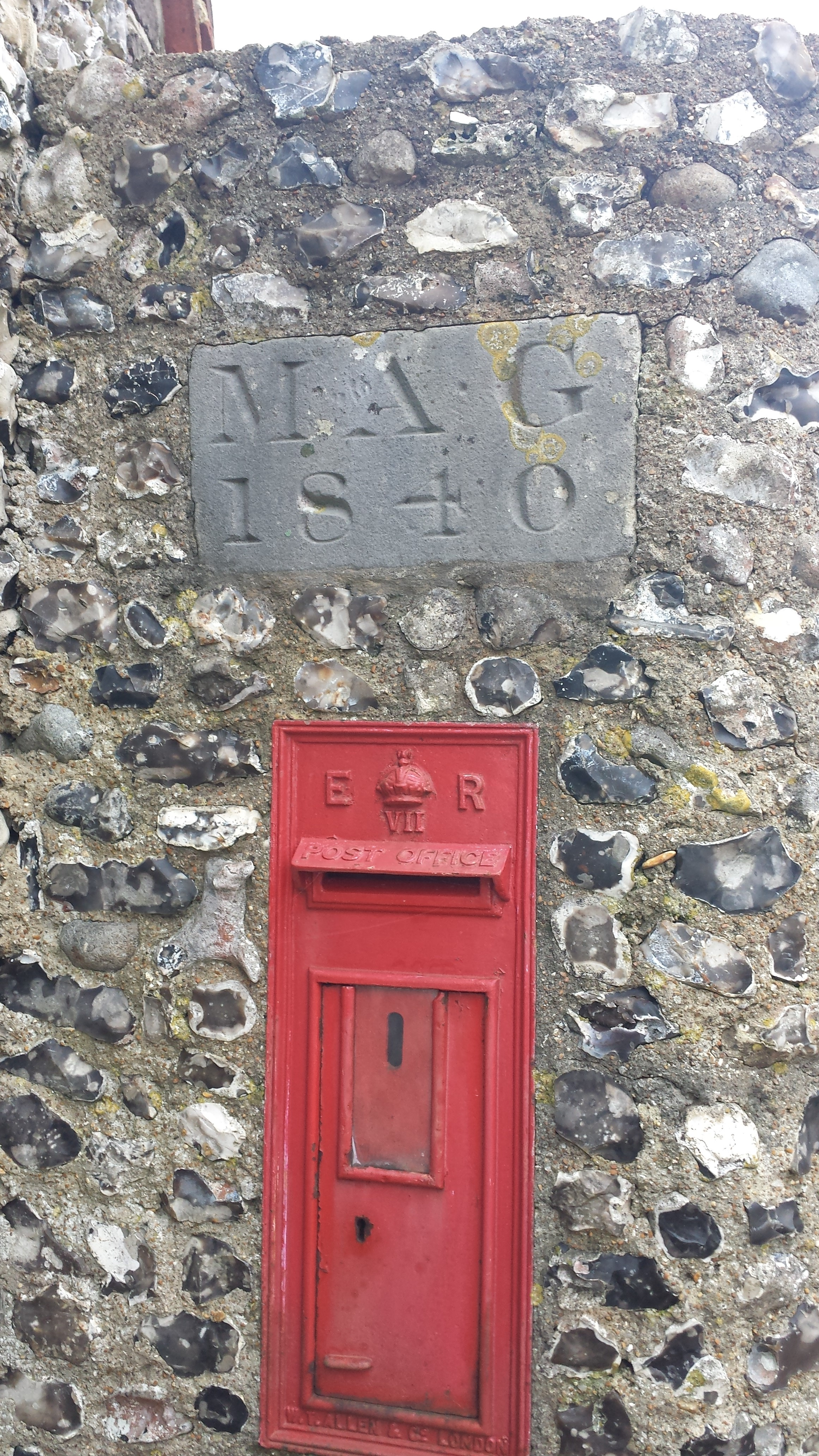 Letterbox dedicated to Mary Ann Gilbert