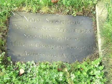 Noel Streatfeild's family grave in Westerham