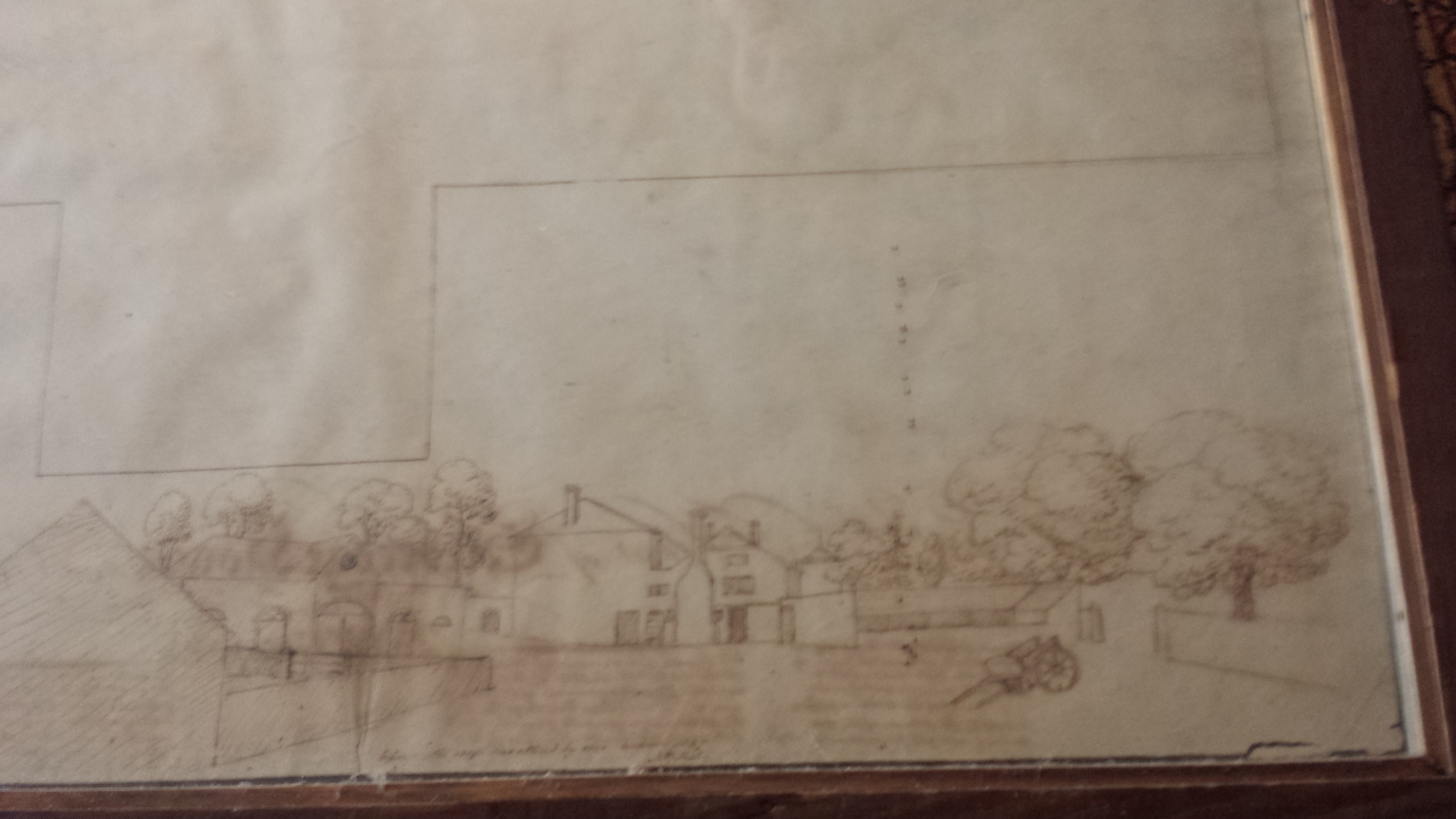 Sketch of house extension