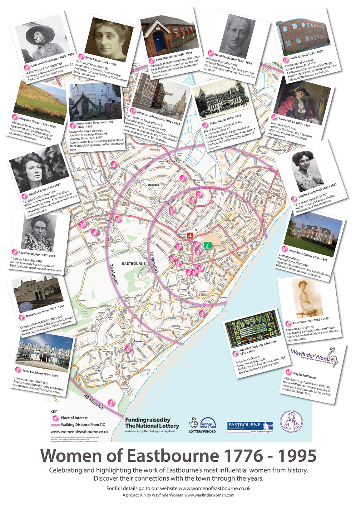 Walking Tour - Women of Eastbourne - Women of Eastbourne